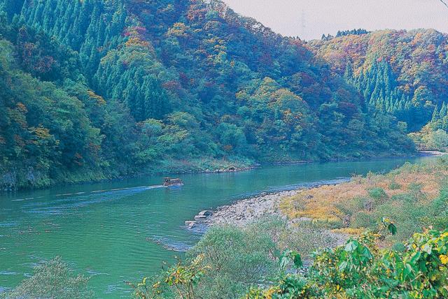 w530-阿賀野川ライン舟下り-